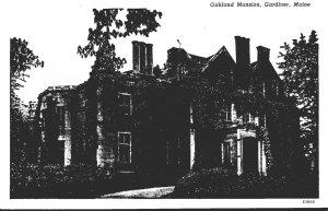 Maine Gardiner Oakland Mansion