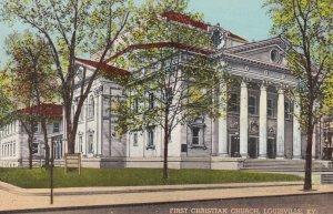 LOUISVILLE, Kentucky, PU-1947; First Christian Church