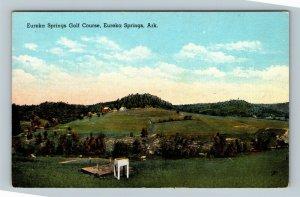 Eureka Springs AR, Eureka Springs Golf Course, Linen Arkansas Postcard