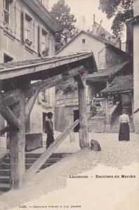 LAUSANNE , Vaud , Switzerland , 00-10s ; Escaliers du Marche