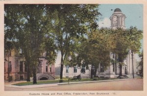 FREDERICTON, New Brunswick, Canada, 1930s ; Post Office