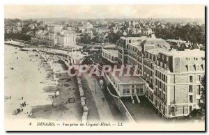 Old postcard Dinard View from Crystal Hotel