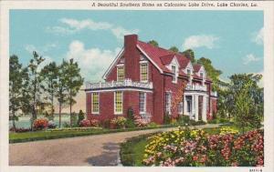 Louisiana Lake Charles A Beautiful Southern Home On Calcasieu Lake Drive