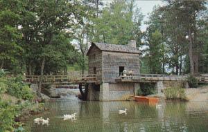 Grist Mill Stone Mountain Park Georgia
