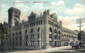 Montreal Canada, du Canada CPR Windsor Street Station  CPR Windsor Street Sta...