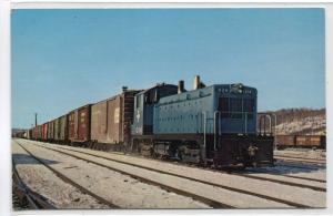 Boston & Maine Railroad Switcher 1204 Mechanicsville New York postcard