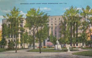 BIRMINGHAM , Alabama , PU-1940 ; Jefferson County Court House