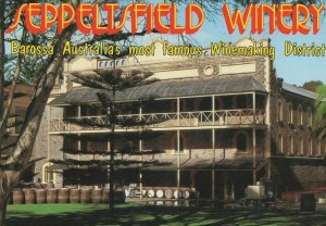 Seppeltsfield Winery Barossa Valley South Australia Postcard