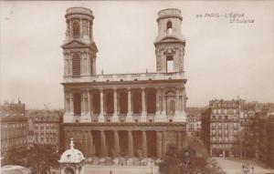 France Paris L'Eglise St-Sulpice