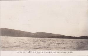 RP, Lake Sofia Third Conn. Lake Chartierville, Quebec, Canada, PU-1947