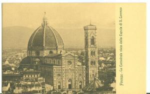Firenze, La Cattedrale vista dalla Cupola di s. Lorenzo