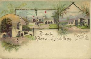 German Colonial Exposition, Africa, Berliner Gewerbe Ausstellung (1896)