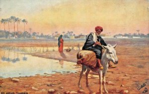 EGYPT~AN ARAB TRADER~TUCK PICTURESQUE EGYPT POSTCARD