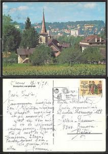 1978 Crans, Switzerland mailed
