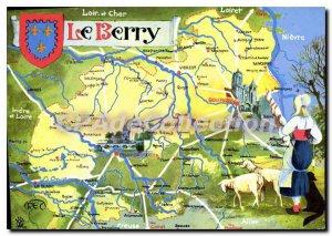 Postcard Modern Loir et Cher Berry Loiret Indre et Loire Nievre