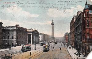 Dublin Ireland O'Connell Street & GPO Dublin O'Connell Street & GPO