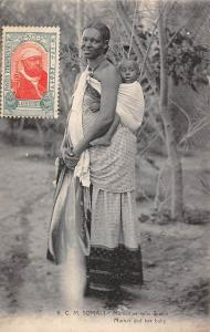 Ethiopia Somali Mother and her baby, Maman et bebe