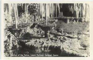 RP Fountain of the Faries, Lower Portion Carlsbad Caverns NM