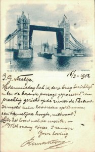 UK Tower Bridge London 06.86