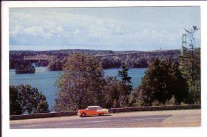 Hwy 401, Thousand Islands International Bridge, Ontario, Canada