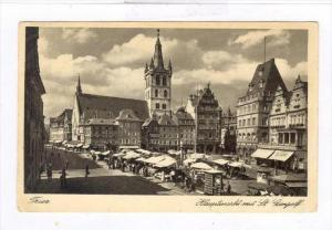 Hauptmarkt Mit St. Gangolf, Trier (Rhineland-Palatinate), Germany, PU-1922