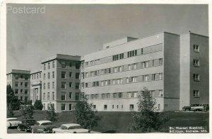MT, Billings, Montana, Saint Vincent Hospital, 1950's Cars, Roshen Photo's, RPPC