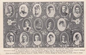 REBEKAH Society of Maine , 1910 ; Past Presidents