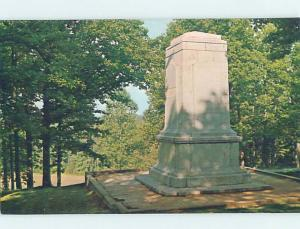 Pre-1980 KENNESAW MOUNTAIN SOLDIERS MEMORIAL Marietta Georgia GA hn3266-22