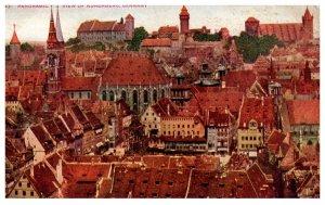 Germany  Panoramic view of Nuremberg