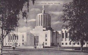 State Capitol At Salem Oregon