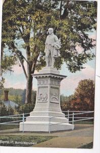 Vermont Barre Burns Monument