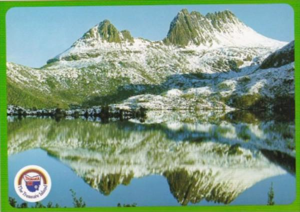 Australia Tasmania Dove Lake & Cradle Mountain In Winter Lake St Clair Nation...