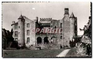 Old Postcard L & # 39Auvergne Chatel Guyon Court and frontage South Chateau C...