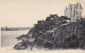 France Dinard Voscounty Prieure Castle and Rance mouth