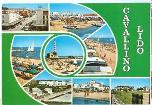 Italy, Cavallino Lido, 1986 used Postcard