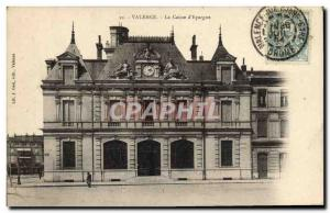 Old Postcard Bank Caisse d & # 39Epargne Valencia