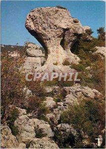 Postcard Modern Languedoc Cirque de Moureze Mushroom Sculpt by Erosion
