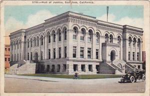 California San Jose Hall Of Justice 1925