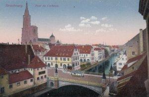 STRASSBURG , France [When Germany] , 1900-10s ; Pont du Corbeau