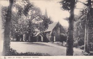 Isle of Wight , Shanklin Church , England , PU-1906 TUCK