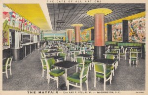 WASHINGTON D.C. , 1930-40s ; Cafe of All Nations , The Mayfair