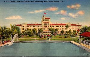 Florida Punta Gorda Hotel Charlotte Harbor 1947 Curteich