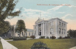 ST. CATHARINES , Ontario , Canada , 1900-10s ; Public Library