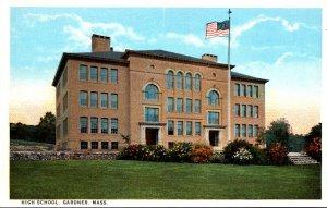 Massachusetts Gardner High School Curteich