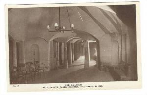 RP; St Clements Caves , Hastings , England, 00-10s ; The Ballroom