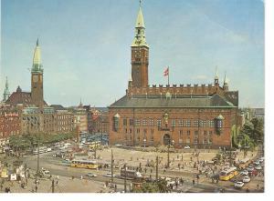 Postal 035578 : The Town Hall Square in Copenhagen - Denmark