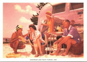 Advertising Airstream Land Yacht Florida 1962