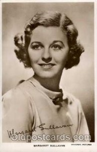 Margaret Sullivan Actress / Actor Postcard Post Card Old Vintage Antique Unused