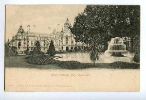 127491 Germany WIESBADEN Nassauer Hof HOTEL Vintage PC