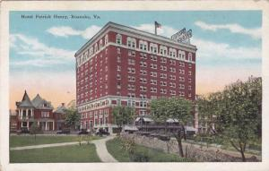 Exterior,  Hotel Patrick Henry,  Roanoke,  Virginia,  00-10s